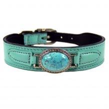 Estate in Turquoise Dog Collar
