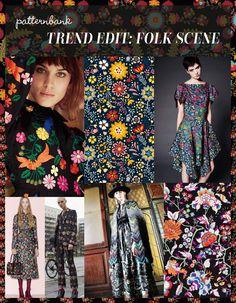 Trend Edit: Folk Scene   Patternbank