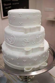 Tarta de boda clásica