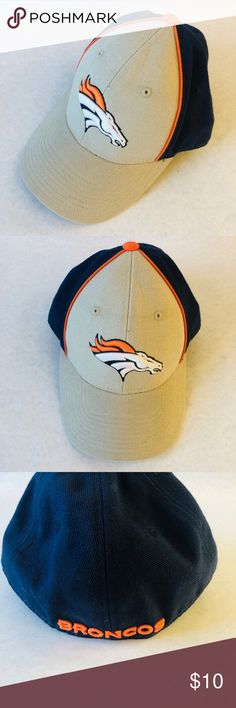 780d419c809 Denver Broncos NFL Reebok Baseball Hat 7 1 8 This hat is in good clean