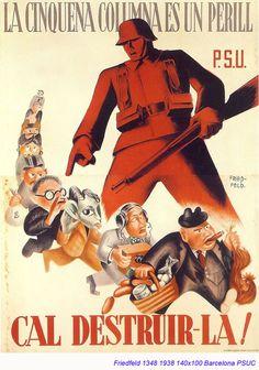 Spain - 1938. - GC - poster - Fried-Feld