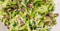 Классный рецепт - Салат из куриных сердечек! Простой и быстрый рецепт салата для любителей куриных сердечек.
