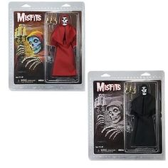 Misfits: Misfits Fiend Action Figure Set Of 2  -  Official In Pack