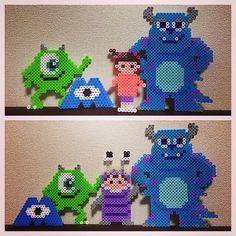 Monsters, Inc. perler beads by  ringo_0122