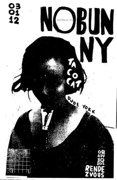 Poster Design Inspiration - Nobunny