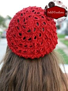 Broomstick Lace Crochet Hat by KatiDCreations - #crochet pattern! I love the look of broomstick lace, and this pattern really shows it off! (And it's easier than you might think!)