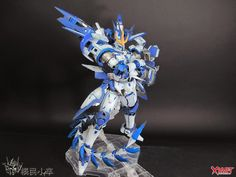DM 1/100 Tallgeese III - Custom Build - Gundam Kits Collection News and Reviews