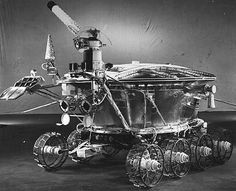 June 2010 Lunokhod: Reflections on a Moon Robot Credit: Lavochkin Association On November 17, 1970 the Soviet Luna 17 spacecraft landed the first roving remote-controlled robot on the Moon. Known as Lunokhod 1, it weighed just under 2,000 pounds and was designed to operate for 90 days while guided in real-time by a five person team near Moscow, USSR. Lunokhod 1 toured the lunar Sea of Rains (Mare Imbrium) for 11 months in one of the greatest successes of the Soviet lunar exploration program.