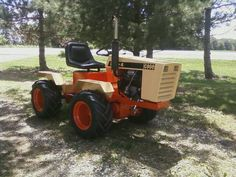 Case 220 garden tractor loader1 Traktorer Pinterest