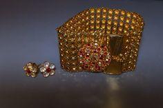 GG Straits Chinese Peranakan Gold Jewellery 16e Moonstone Earrings, Stud Earrings, Chinese Takeaway, Flower Shape, Gold Jewelry, Stud Earring, Gold Jewellery, Earring Studs, Gold Bridal Jewellery
