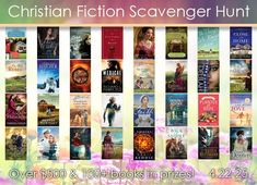 Join me and 31 other inspirational authors for a Christian Fiction Scavenger Hunt! I'm hosting the amazing Robin Lee Hatcher at my site: www.tamaraleigh.com. Be sure to start at Lisa T. Bergen's Stop #1 and collect the clues through all 33 stops, in order, so you can enter to win one of our top 3 grand prizes!