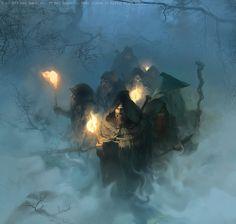 Guerreiros na neblina