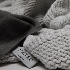 Rope Blanket in Greige, 90x90   MATTEO :: $742 (Occasionally available in White and Coal on One Kings Lane for $500)