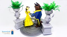 Quilling Disney - Beauty and the Beast by kyomoncraft