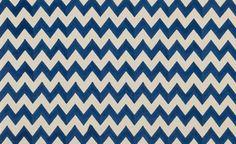 Blue Zig Zag via Madeline Weinrib