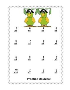 math worksheet : math addition  subtraction within 20 worksheets fun pirate theme  : Addition And Subtraction Within 20 Worksheets