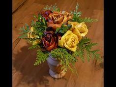 Ruže z lístia Lenka - YouTube