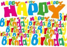 Happy Birthday everywhere | Happy Birthday | Echte Postkarten online versenden…