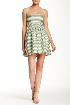 Necessary Objects - Seersucker Tube Dress at Nordstrom Rack. Free Shipping on…