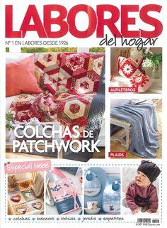 """OCIO. """"Labores del Hogar"""" Revista especializada en labores de aguja, manualidades, ideas de decoración, etc. Incluye patrones y modelos para llevar a cabo las labores que se proponen."""