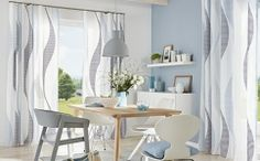 Perdele si draperii bucatarie Gardisette Office Desk, Germania, Dining Table, Flooring, Interior, Modern, Furniture, Collection, Design