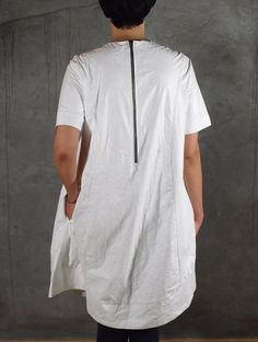 QCZ PAPER DRESS WITH TYVEK
