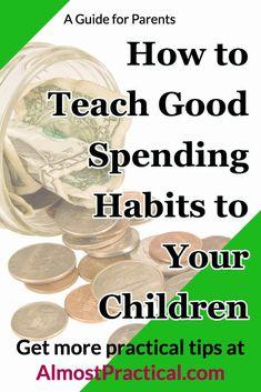Four parenting tips you can use to teach your child about good money spending habits. It is good for children to learn about budgeting tips & saving money at a young age. Financial Literacy, Financial Organization, Toddler Fun, Saving Money, Saving Tips, Teaching Kids, Kids Learning, Raising Kids, Kids Education