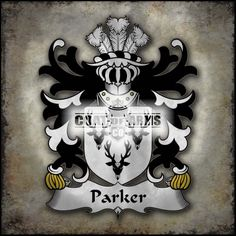 Parker (of Llanllywed, Monmouthshire) Family Crest - Welsh Coat of Arm