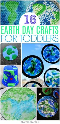 earth day crafts for toddlers #earthday #preschool #kidscraft #toddler