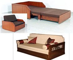 The enlivening current lifestyle brings unconventional ways to use your home spaces efficiently. One of the most expedient space saving solutions of modern day is multipurpose furniture. Whether yo… Cute Furniture, Upcycled Furniture, Pallet Furniture, Small Space Living, Small Spaces, Sofa Cumbed Design, Sofa Come Bed, Multipurpose Furniture, Space Interiors