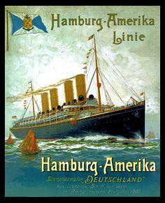 Hamburg Ocean Liner