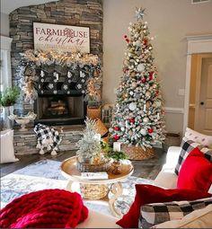 Last Minute Fabulous Farmhouse Christmas Tree Decoration Ideas - Pajero is My Dream