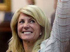 """State Sen. Wendy Davis of Texas told Chris Hayes that she """"would be lying"""" if she said she didn't have ambitions for a state-wide office."""