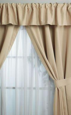 cortinas blackout beige coleccin hotelera hoteleria decoracion calidad recamara intimahogar