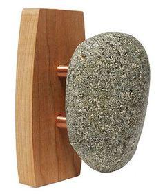 Uncommon Goods Single Sea Stone Wall Hook