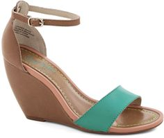 Thyme Wedge in Sea Green on shopstyle.com