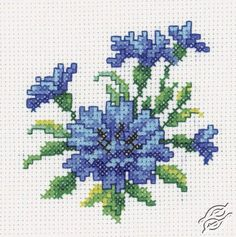 Cornflower - Cross Stitch Kits by RTO - H246