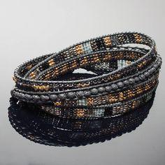 Bracelet homme cuir %1