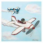 Hi Flyin Monkeys Air Show Canvas Reproduction