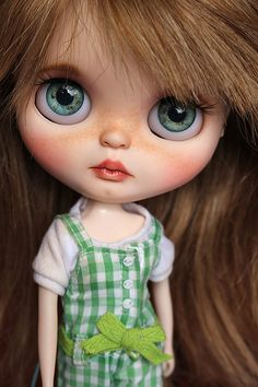 Lupe OOAK Custom Blythe Art Doll for adoption on Etsy :) | by Atelier BYD Dolls