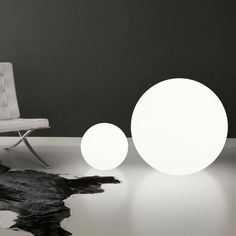 OH! FLOOR Purity and perfection, high quality spheres to light all indoor settings