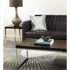 Wallstreet Espresso Coffee Table and End Table Set  by  Avenue Six