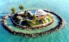 My dream home. East Sister Rock off Sombrero Beach, Marathon, Florida Keys