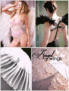 DIY angel wings tutorial for Halloween #victoriasecret #cosplayfeathers #turkeyfeathers