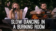 Slow Dancing In A Burning Room John Mayer - Lia Marie Johnson Cover