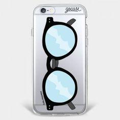 Capinha para celular Óculos Clássico