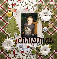 Latina Crafter - Sellos en Español: Layout Christmas