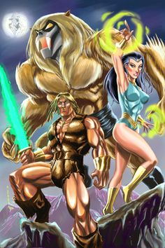 Thundarr The Barbarian - There are still people posting about this cartoon.