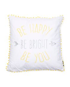 image of 20x20 Be Happy Be You Pillow