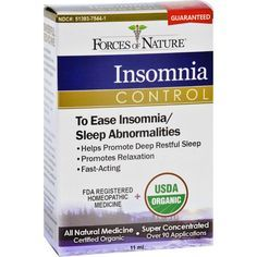 Forces Of Nature Organic Insomnia Control